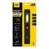 500 Lumens Rechargeable Handheld LED Worklight With Laser Level