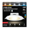 5/6 in. Color Selectable High Output Integrated J-Box Recessed LED Downlight