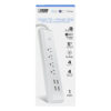 Smart Wi-Fi 4-Outlet Plug with Night Light