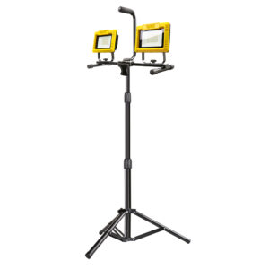 12000 Lumen Plug-in LED Work Light With Tripod