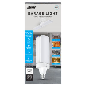 2600 Lumen Foldable Panel Garage Light