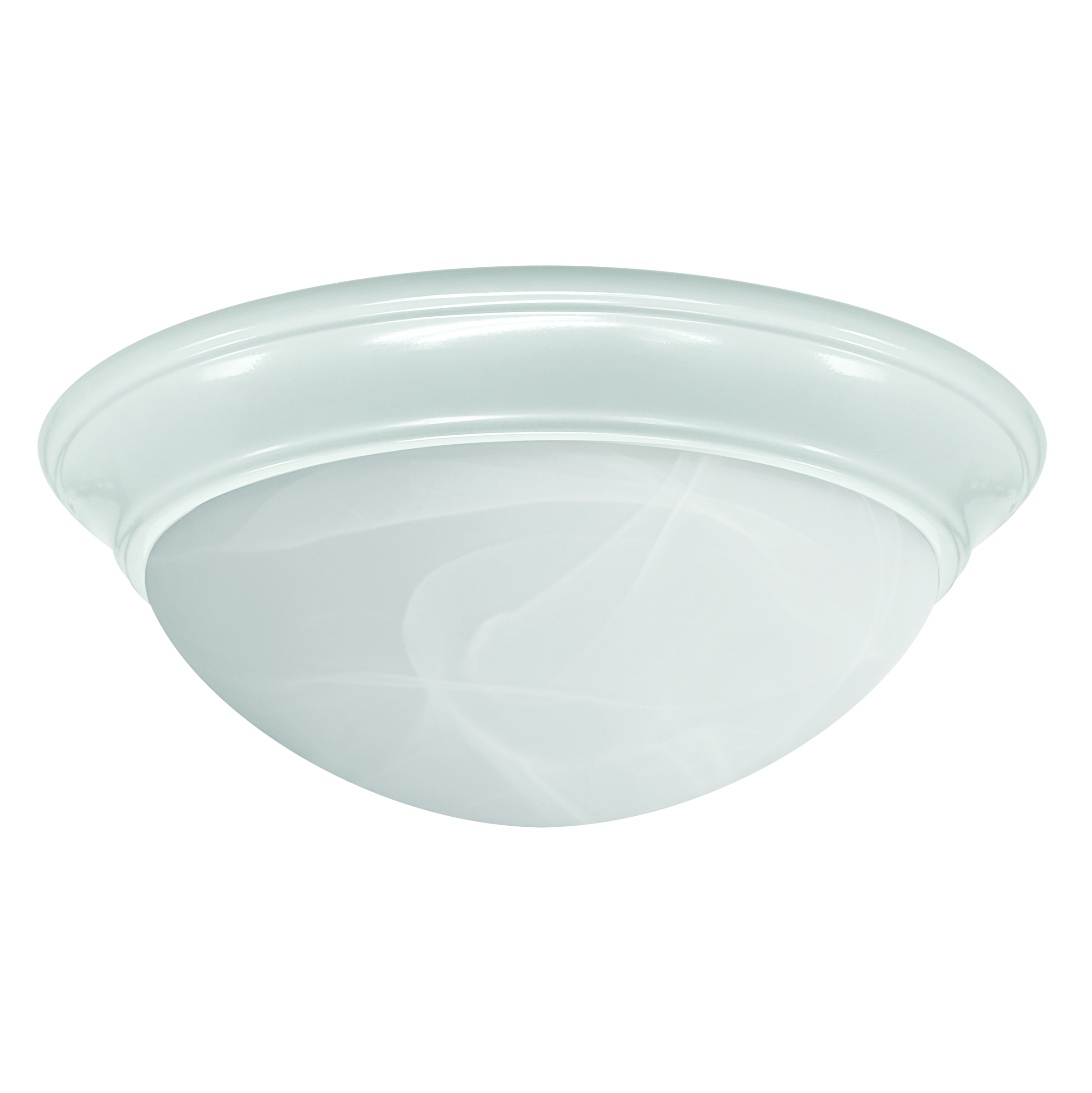 1100 Lumen Color Selectable 13 Inch LED White Ceiling Fixture