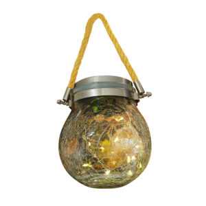 5 in. Solar Powered Fairy Jar Light