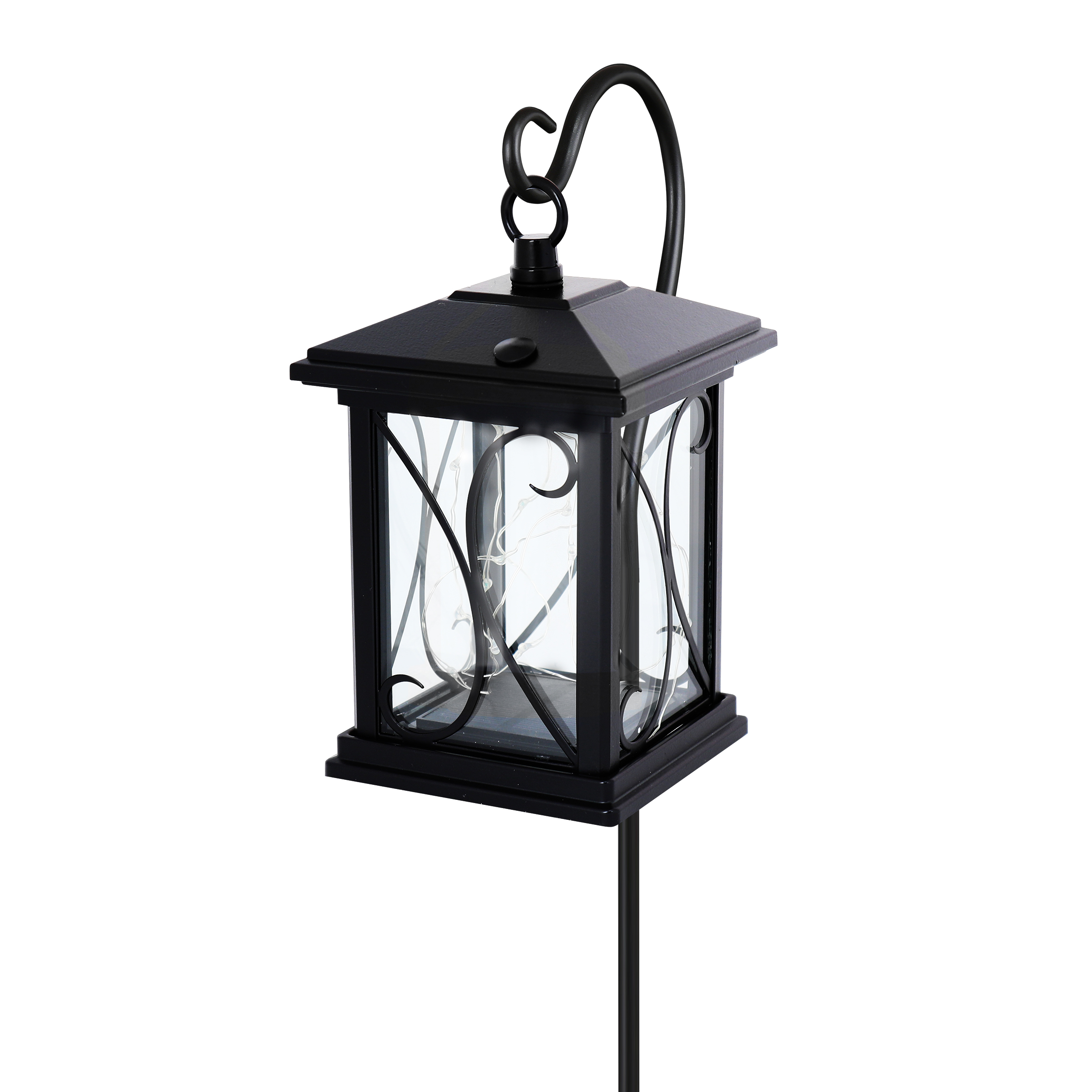4 in. Square Solar Powered Outdoor Fairy Lantern