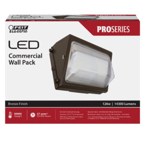14,300 Lumen 5000K LED Security Wall Pack