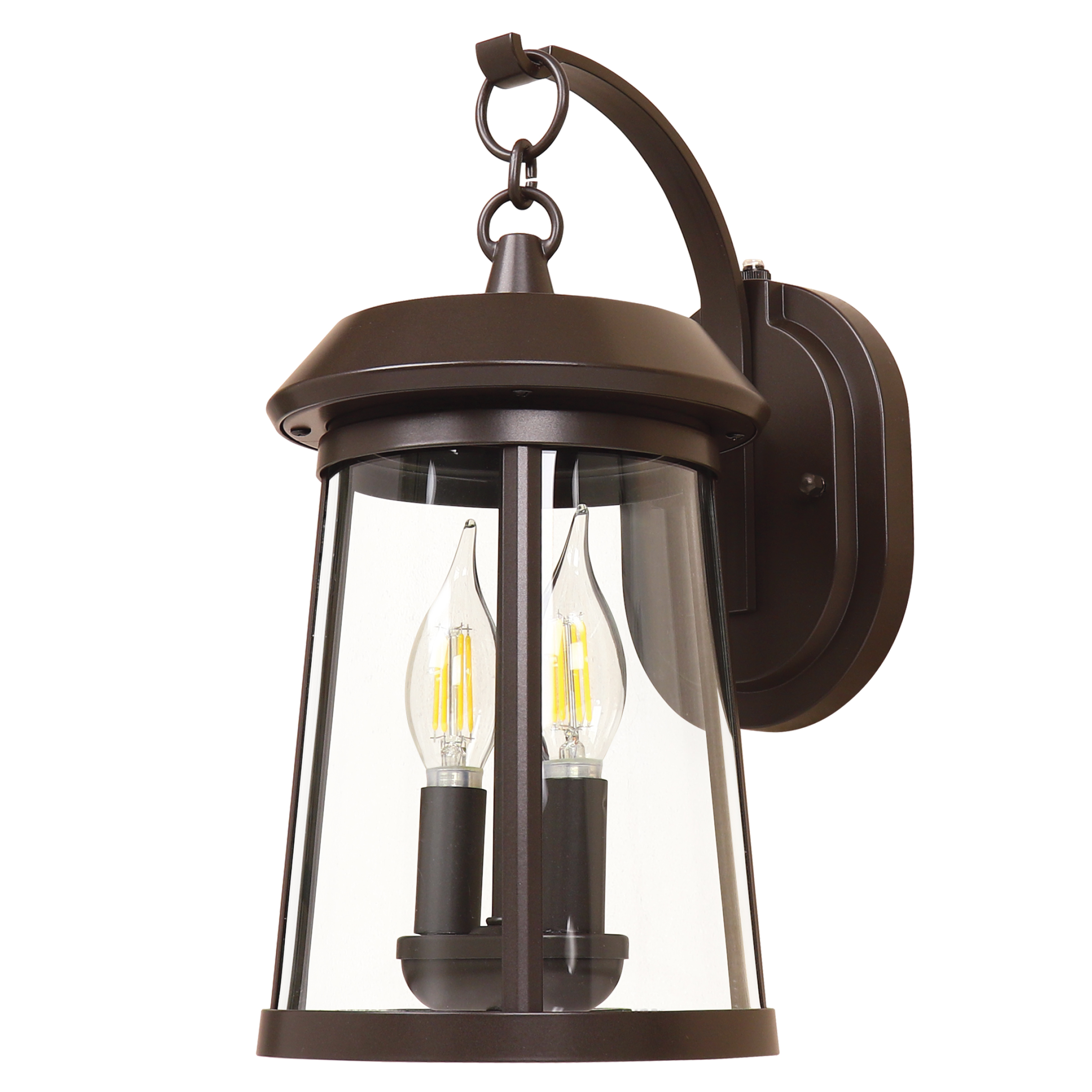 "14"" outdoor lantern dusk to dawn"