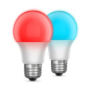 Color Changing A19 LED Remote Control Party Bulbs (2-Pack)
