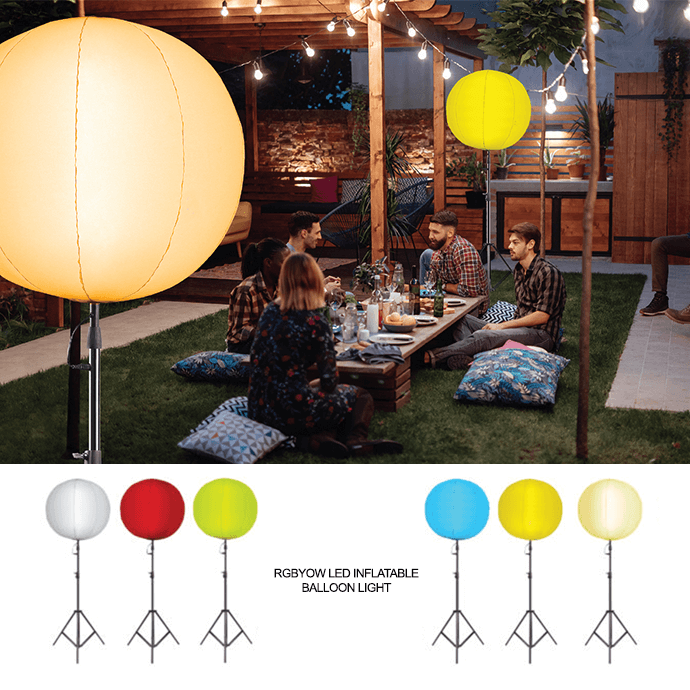 Feit Electric LED Inflatable Balloon Light Outdoor Lighting